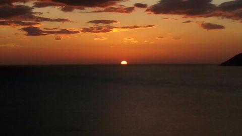 Sunset, Beach, Water, Sea, Evening