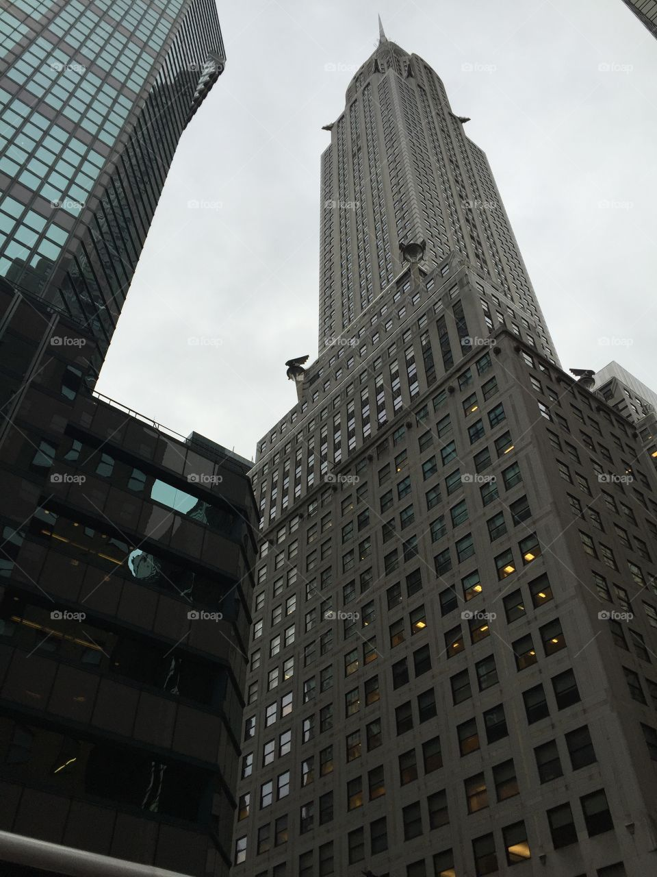 Chrysler Building. In NYC