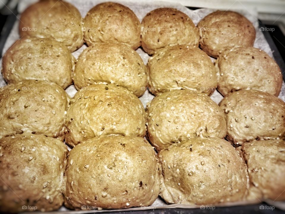 home bakery, experimental receipe, with fibre, and different kinds og flour.. baked in my kitchen
