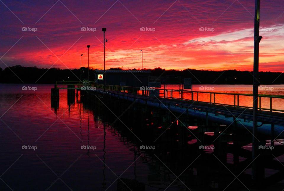 CITGO Sunset
