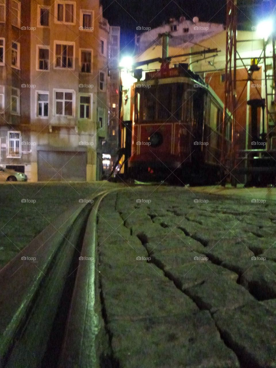 Istanbul streetcar