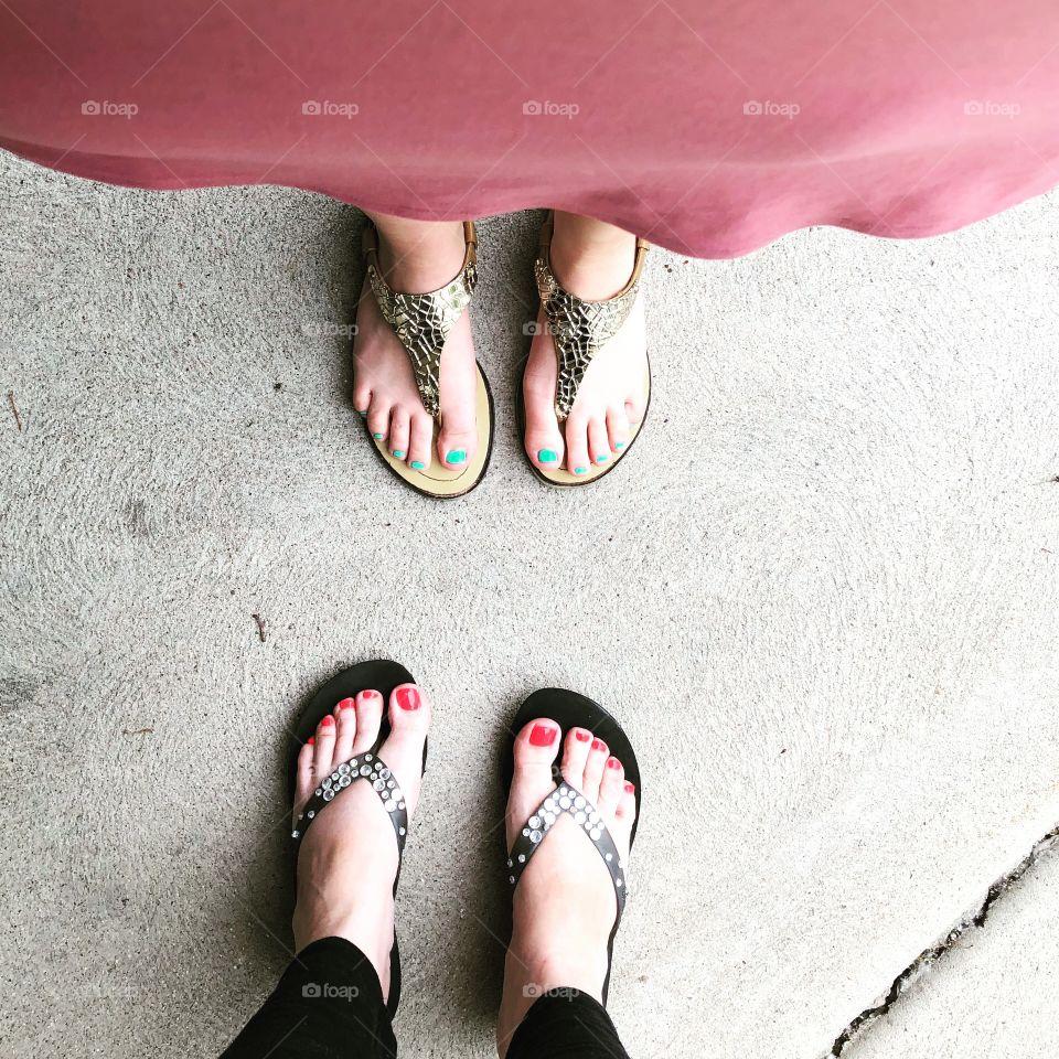 Cute toes