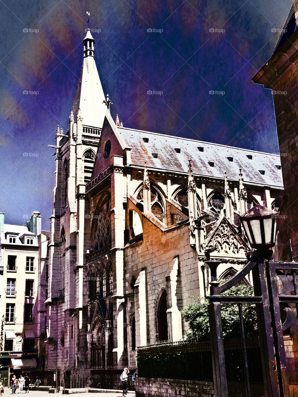 Gothic Church Paris France