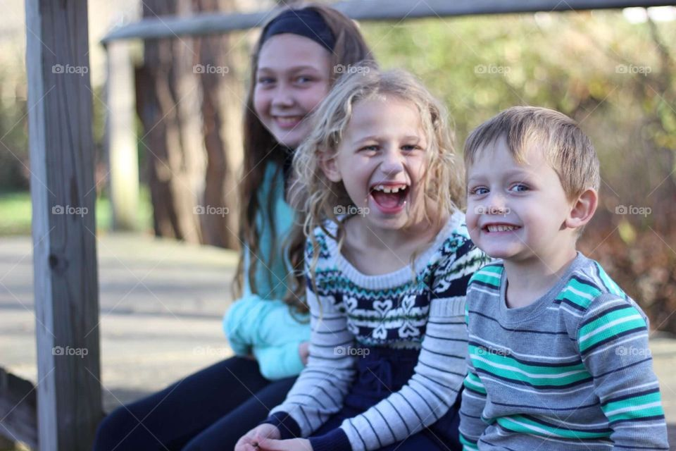The three pieces of my heart.