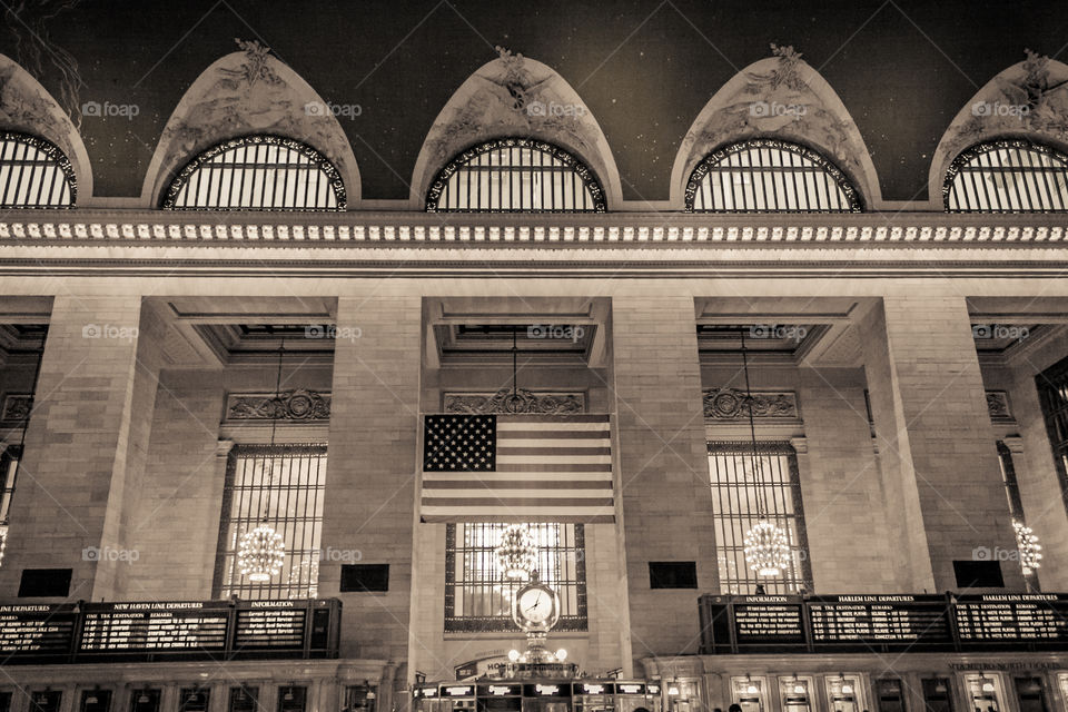 Grand Central Station. New York Grand Central