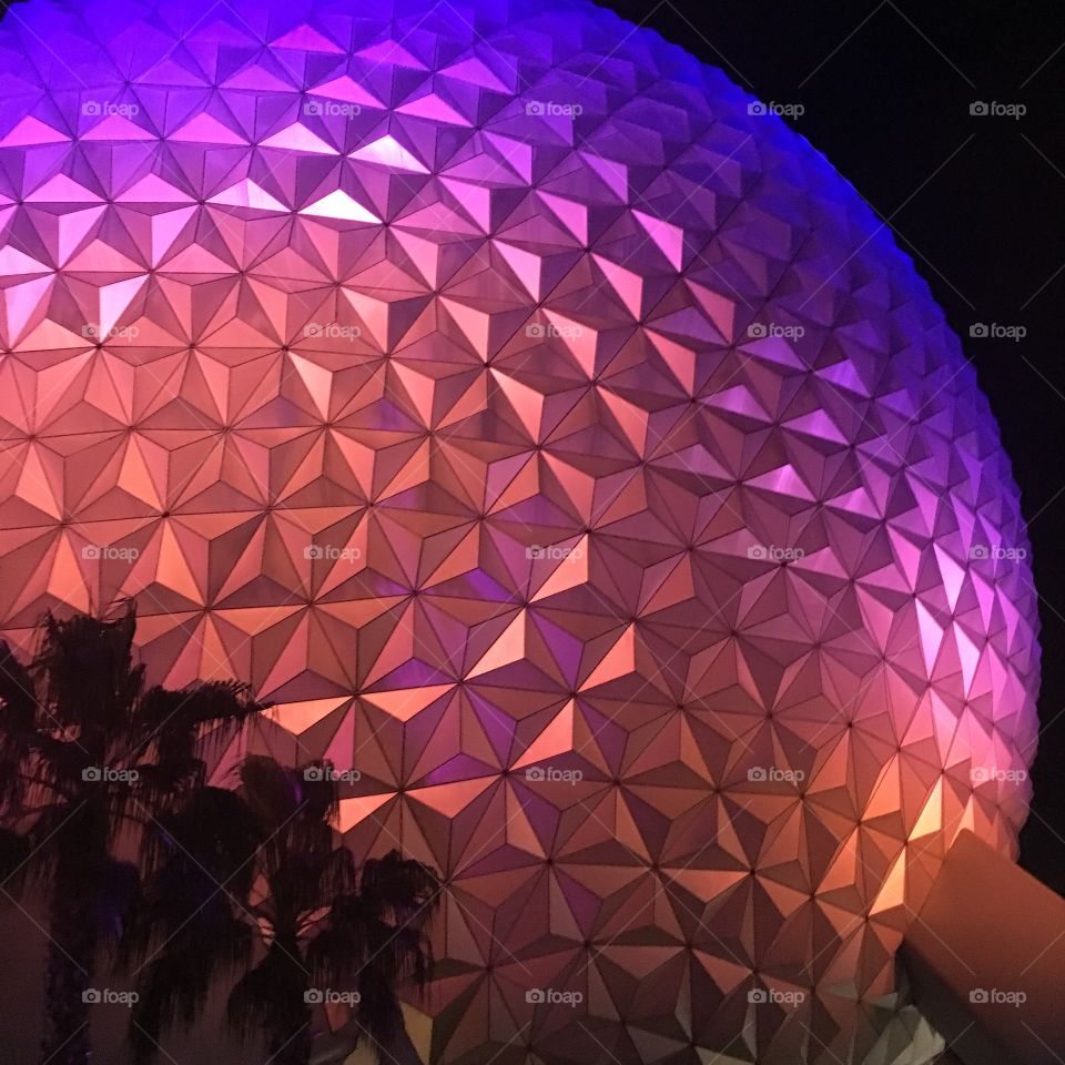 Epcot: home of the giant golf ball
