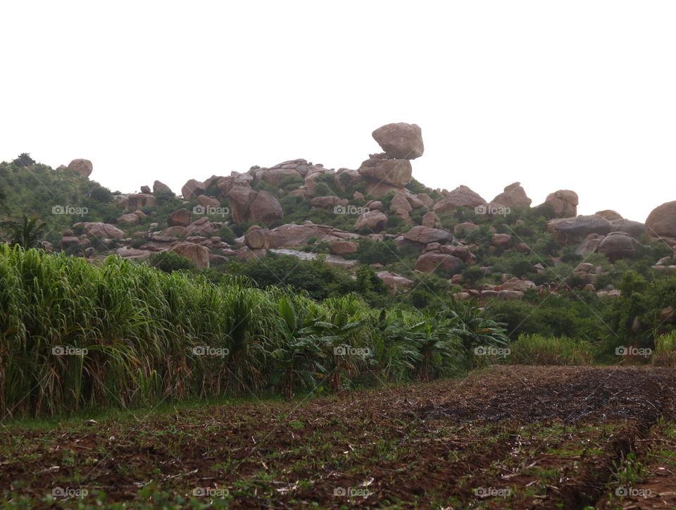 stone balance
