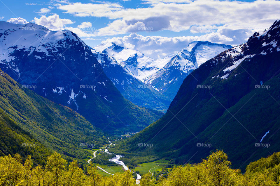 Landscape of Norway