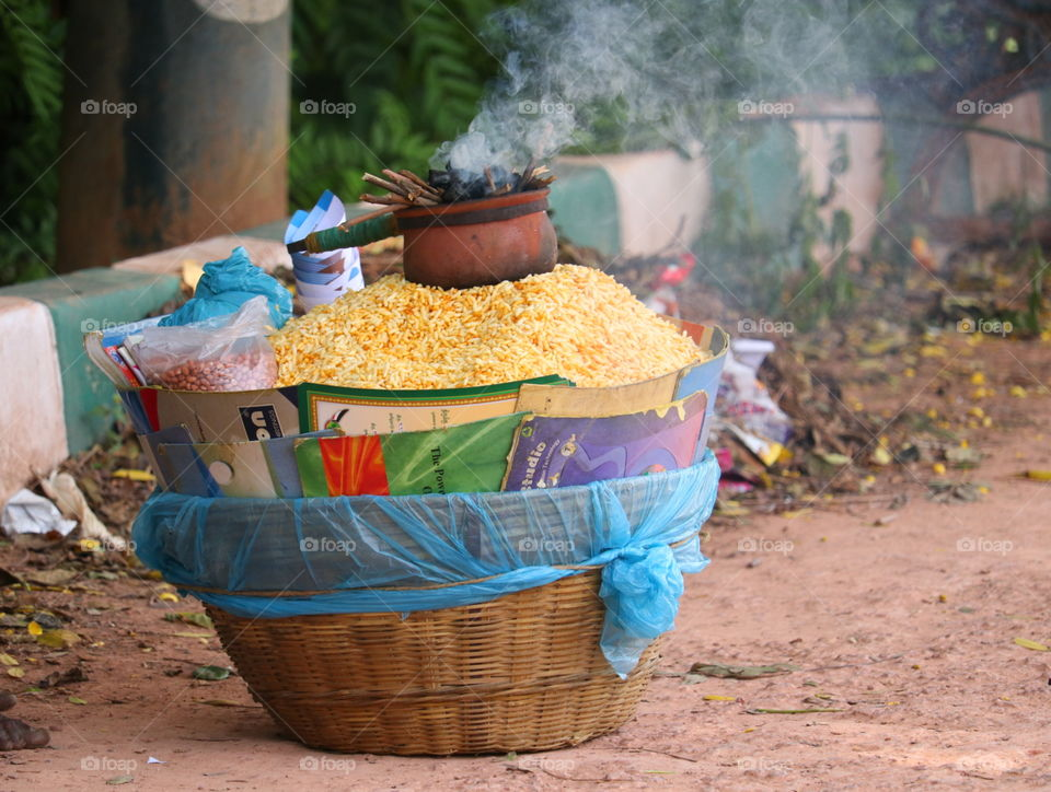 No Person, Wood, Food, Traditional, Basket