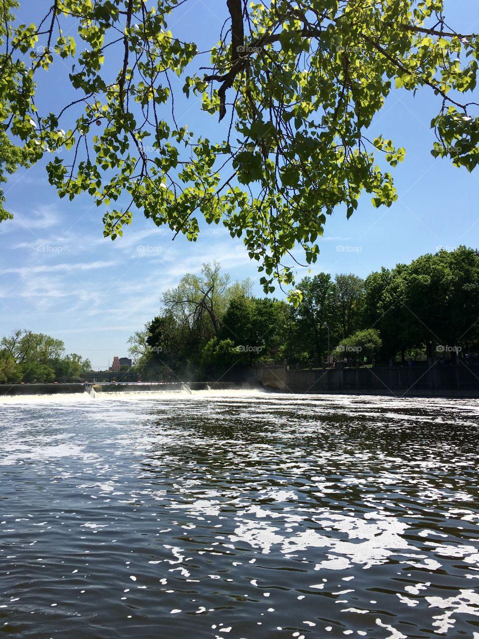 Grand River, Lansing