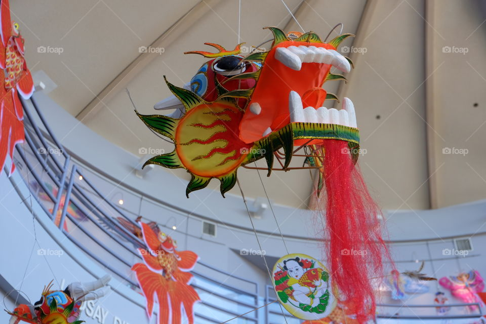 Dragon, decoration