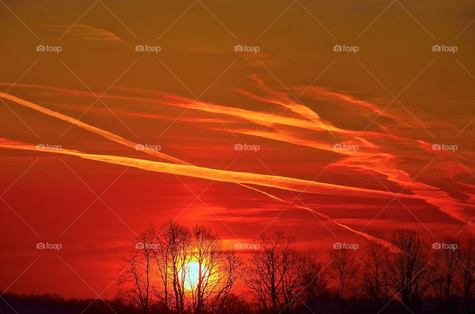Chen trail sunrise