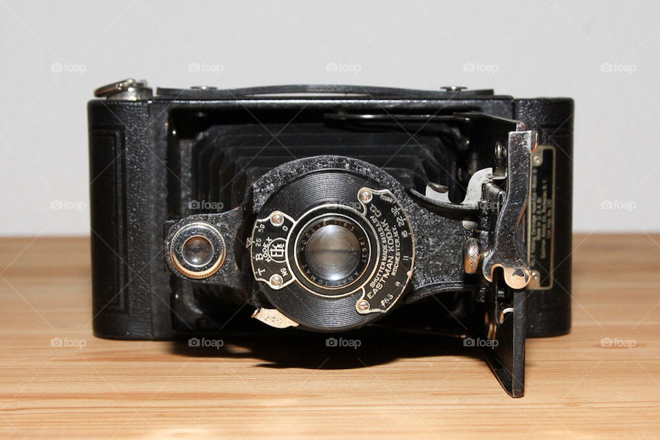 photography old camera kodak by dryair