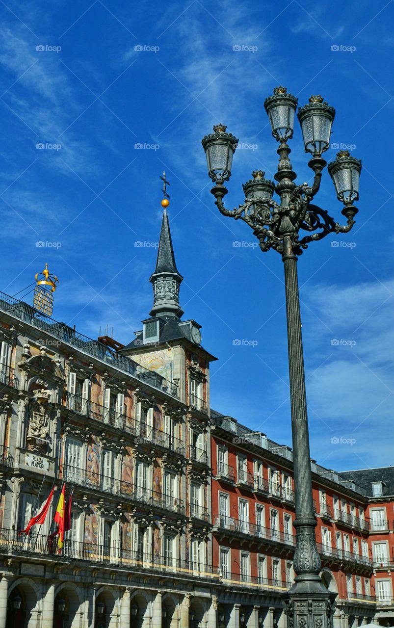 Plaza Mayor de Madrid. Plaza Mayor de Madrid, Spain
