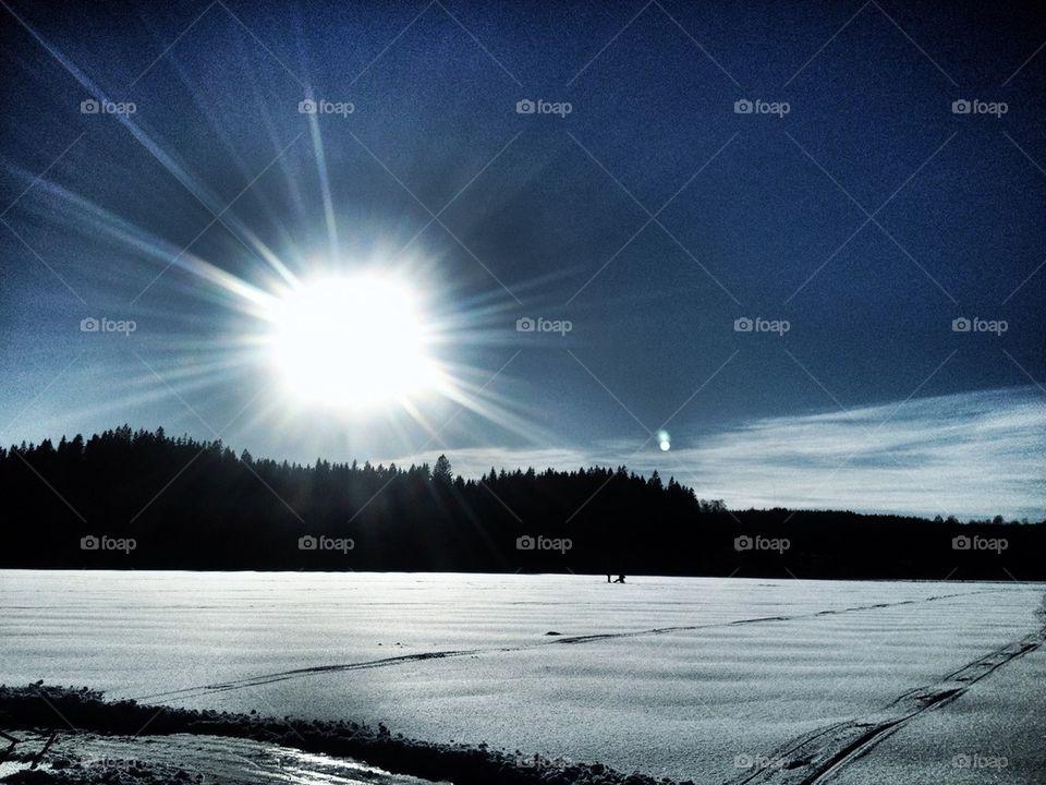 sky sun web design by lemonique