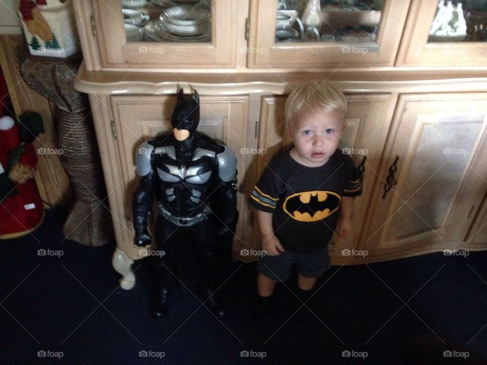 Batman and Buddy