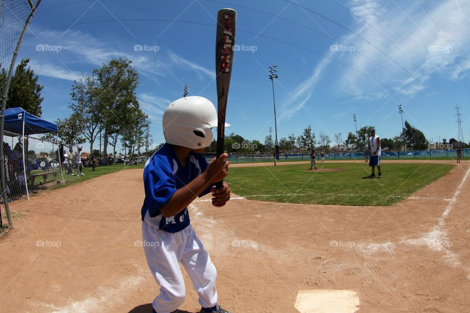 Stepping up to bat . Catchers eye view