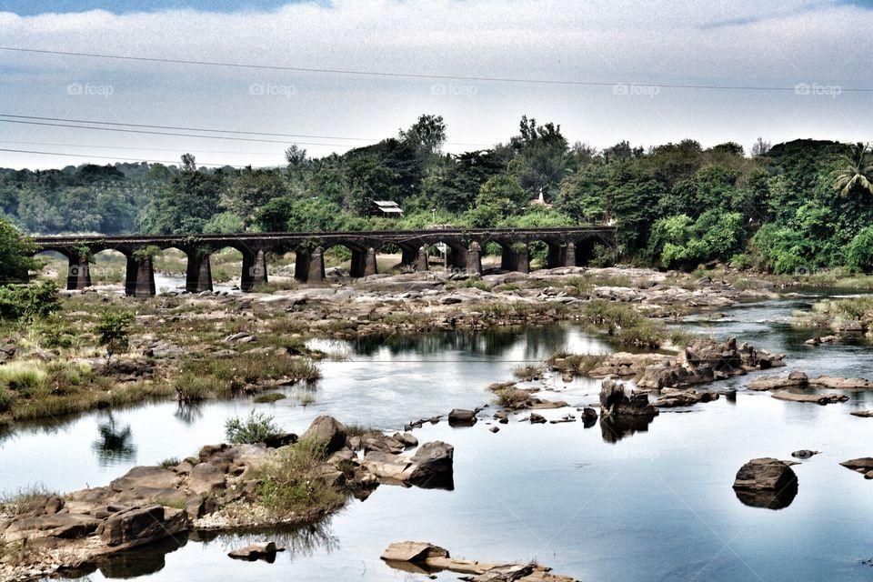 Konkan Railway Bridge, India . Konkan Railway Bridge, India