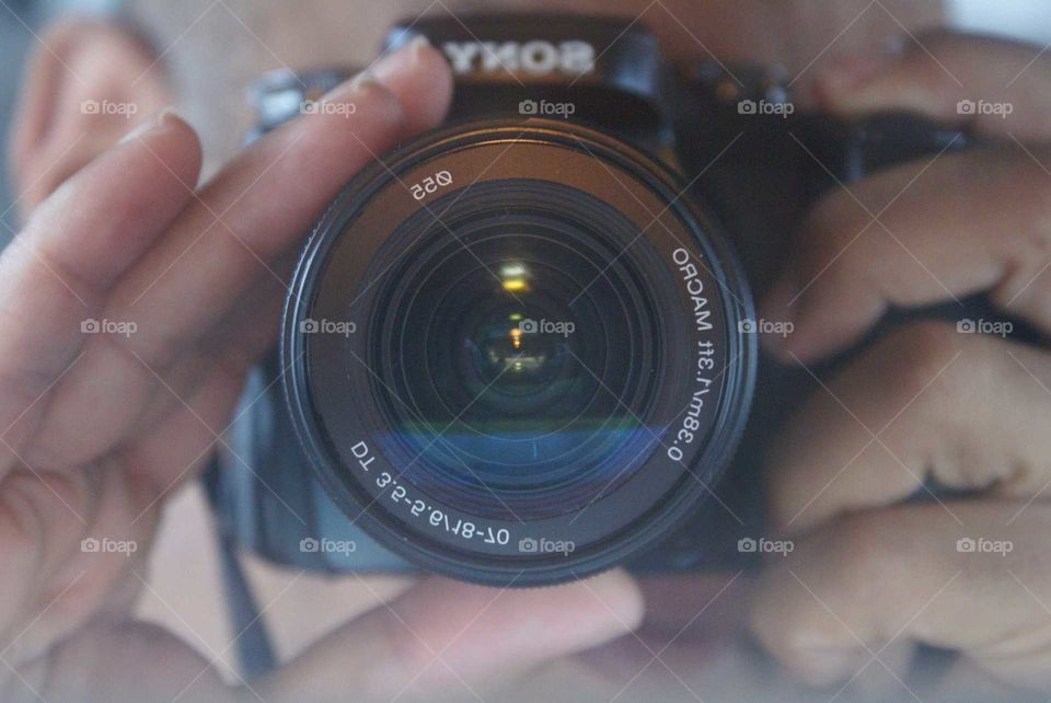 my camera reflection
