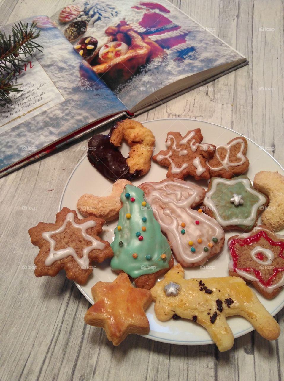 Preparing snacks for Santa