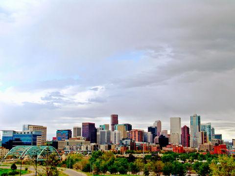 Denver . Skyline of Denver, Colorado.