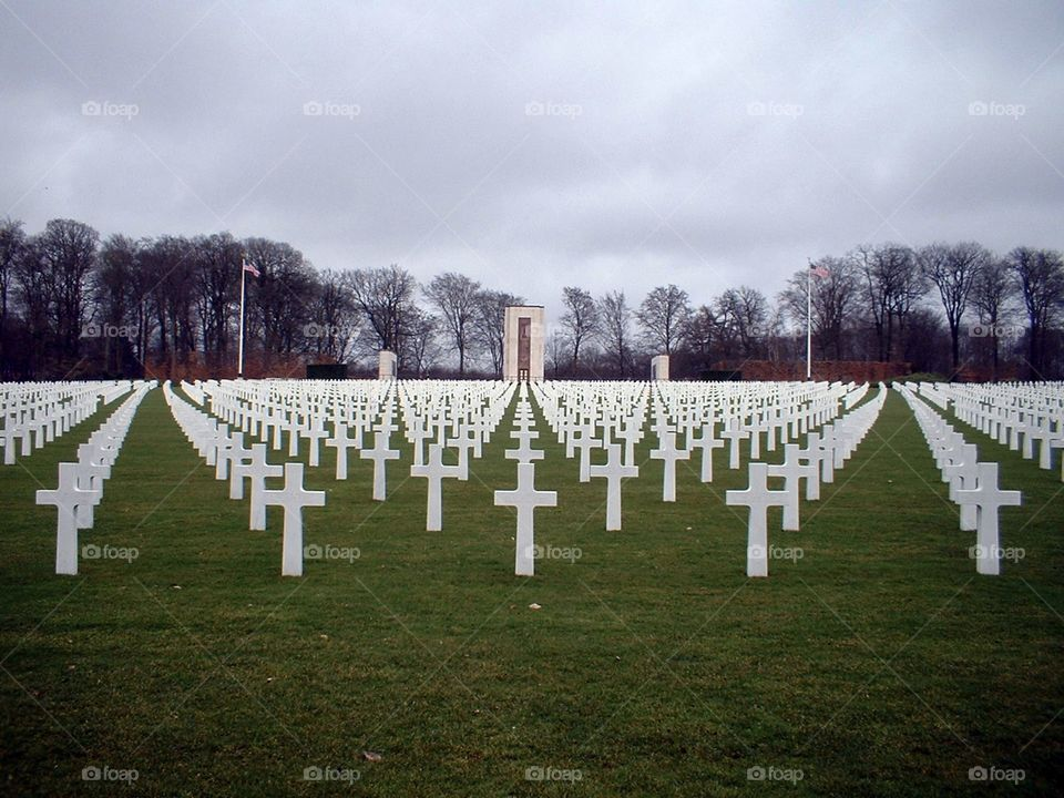 US cemetery in Luxembourg