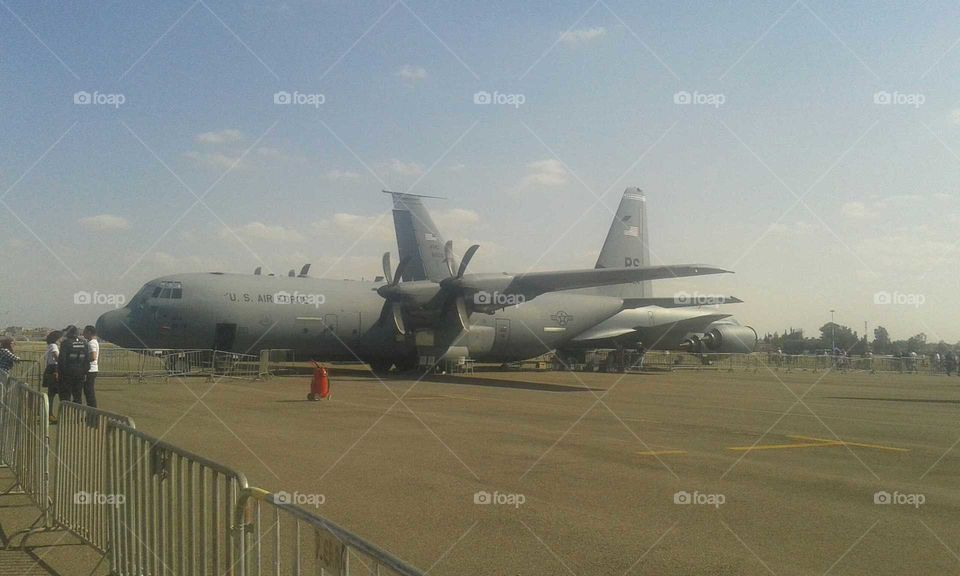 Airplane, Aircraft, Airport, Military, Transportation System