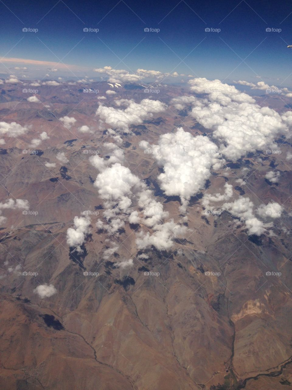 Inflight. Chile