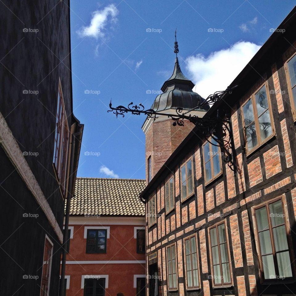 landscape sweden city houses by annajensen