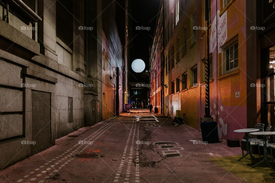 City Lights and Aisles