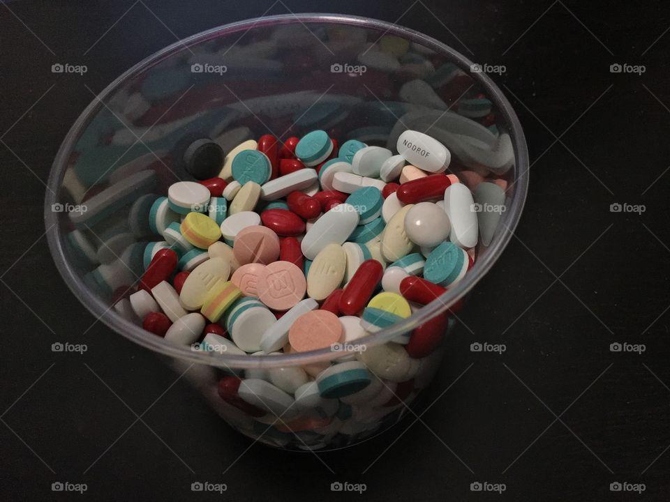 Colorful medication