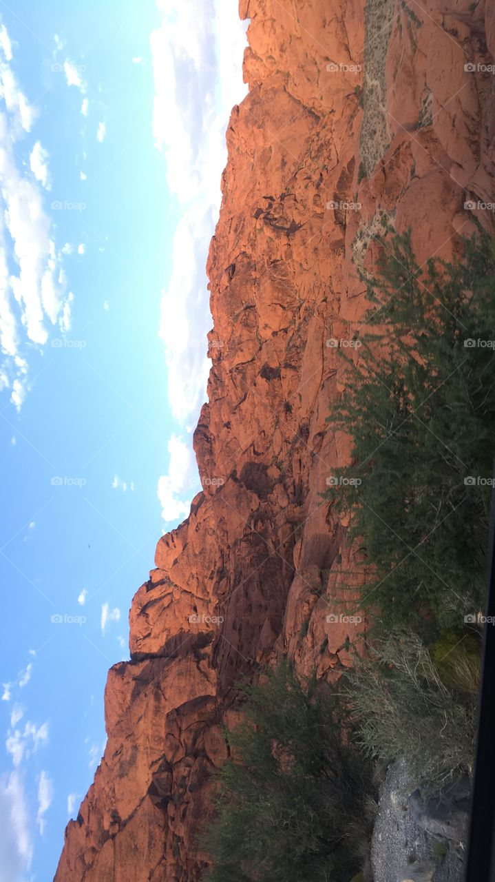 The most beautiful scenery I have ever experienced. Beautiful red rocks.