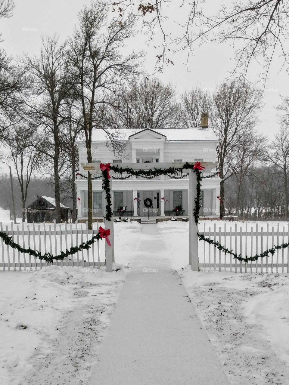 Christmas at Historic Grignon House