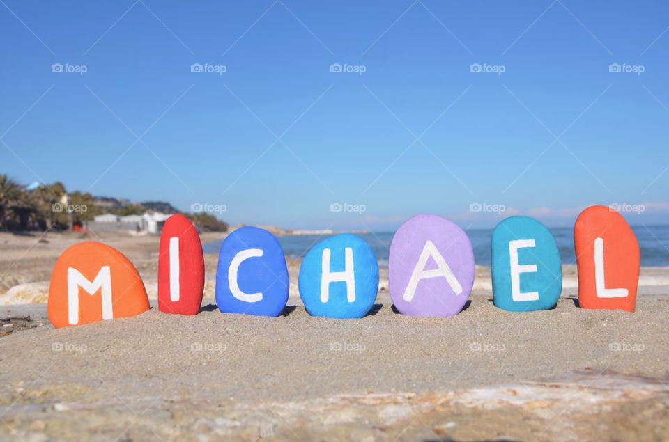 Foap michael baby boy name meaning gift of god stock photo by michael baby boy name meaning gift of god negle Choice Image