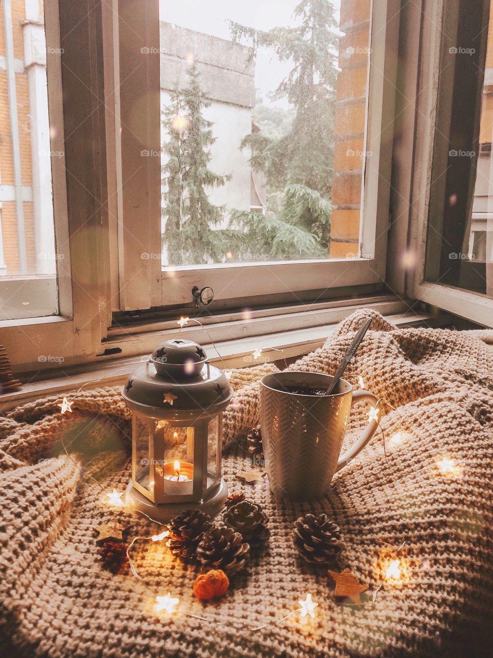 Getting cozy