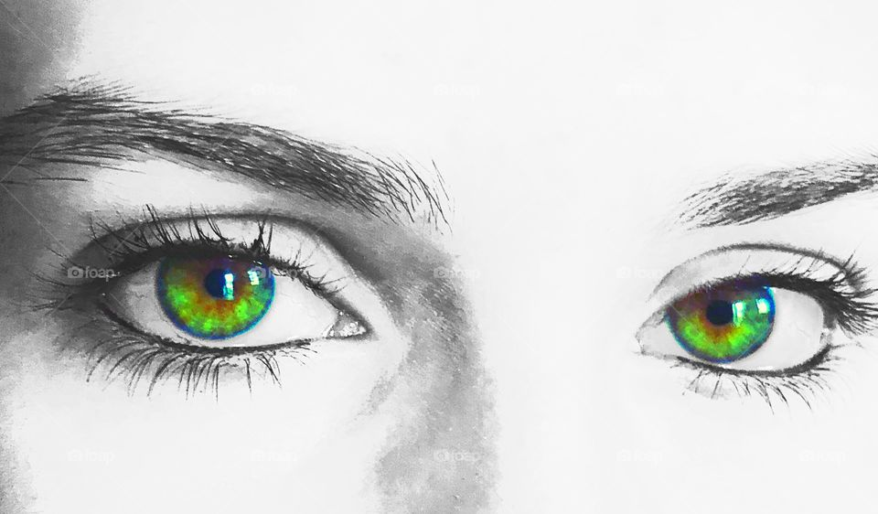 Most beautiful eyes, Windows to the soul