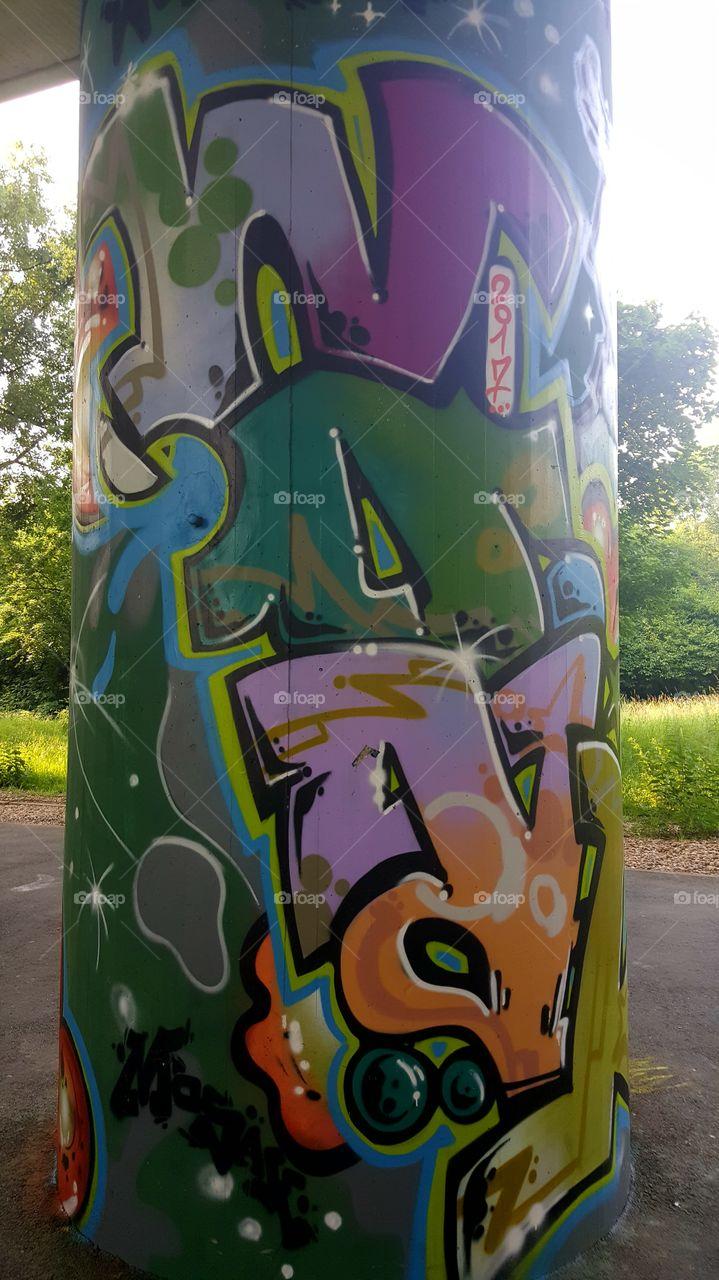 street art Graffiti wall colors Art colorfull