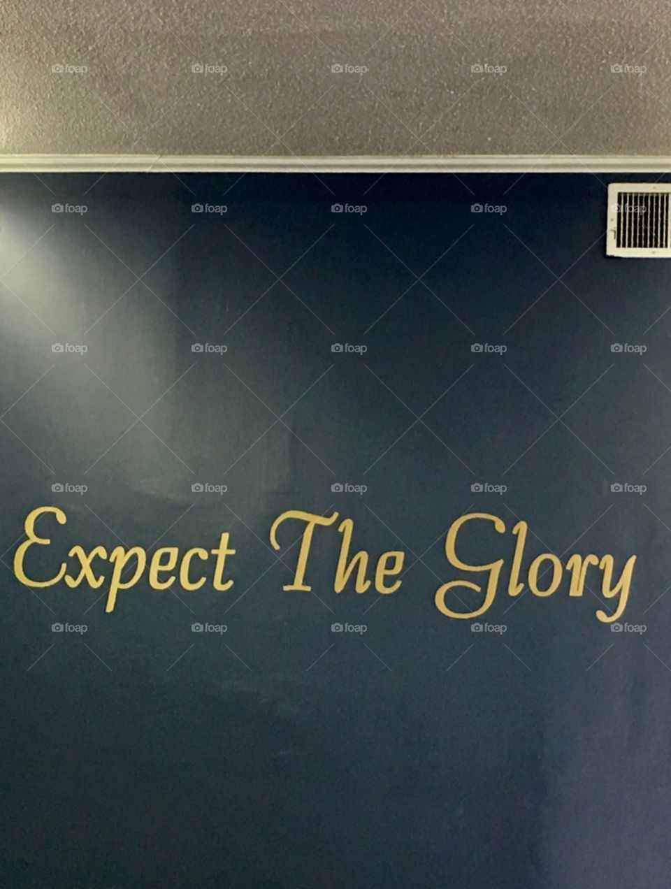 Expect The Glory