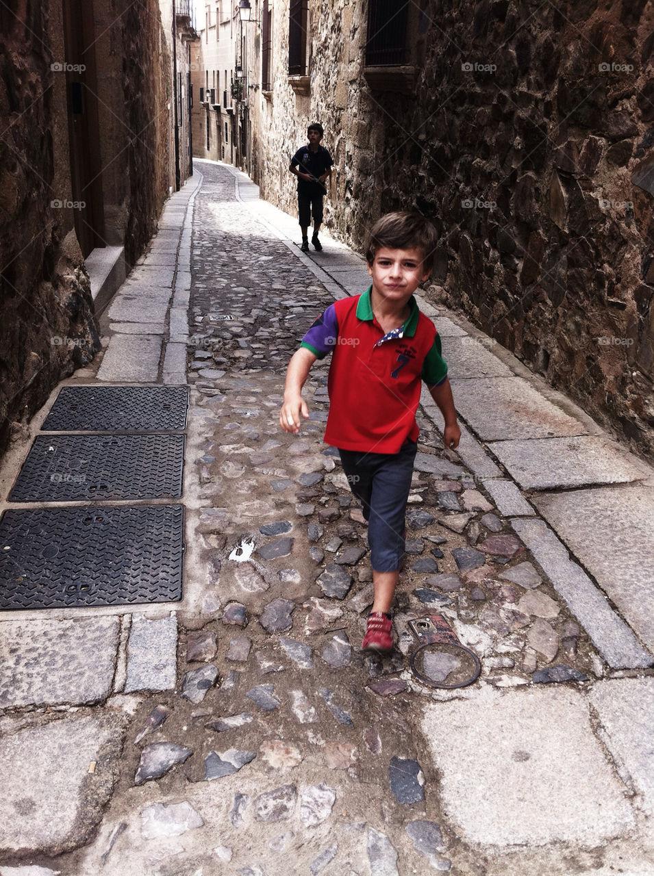 street boy by massena