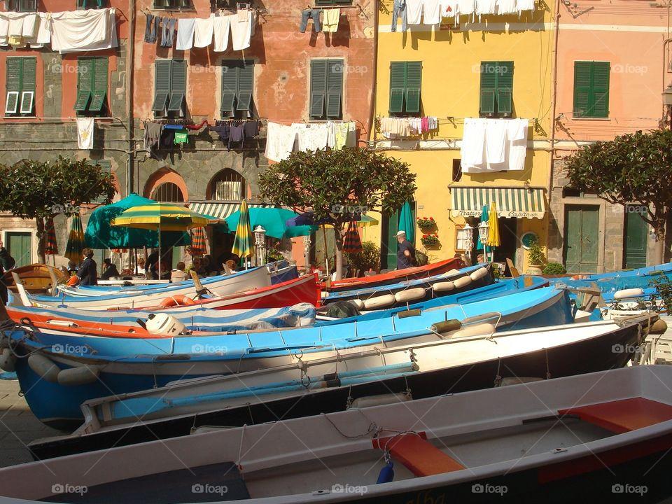 Italian fishing village