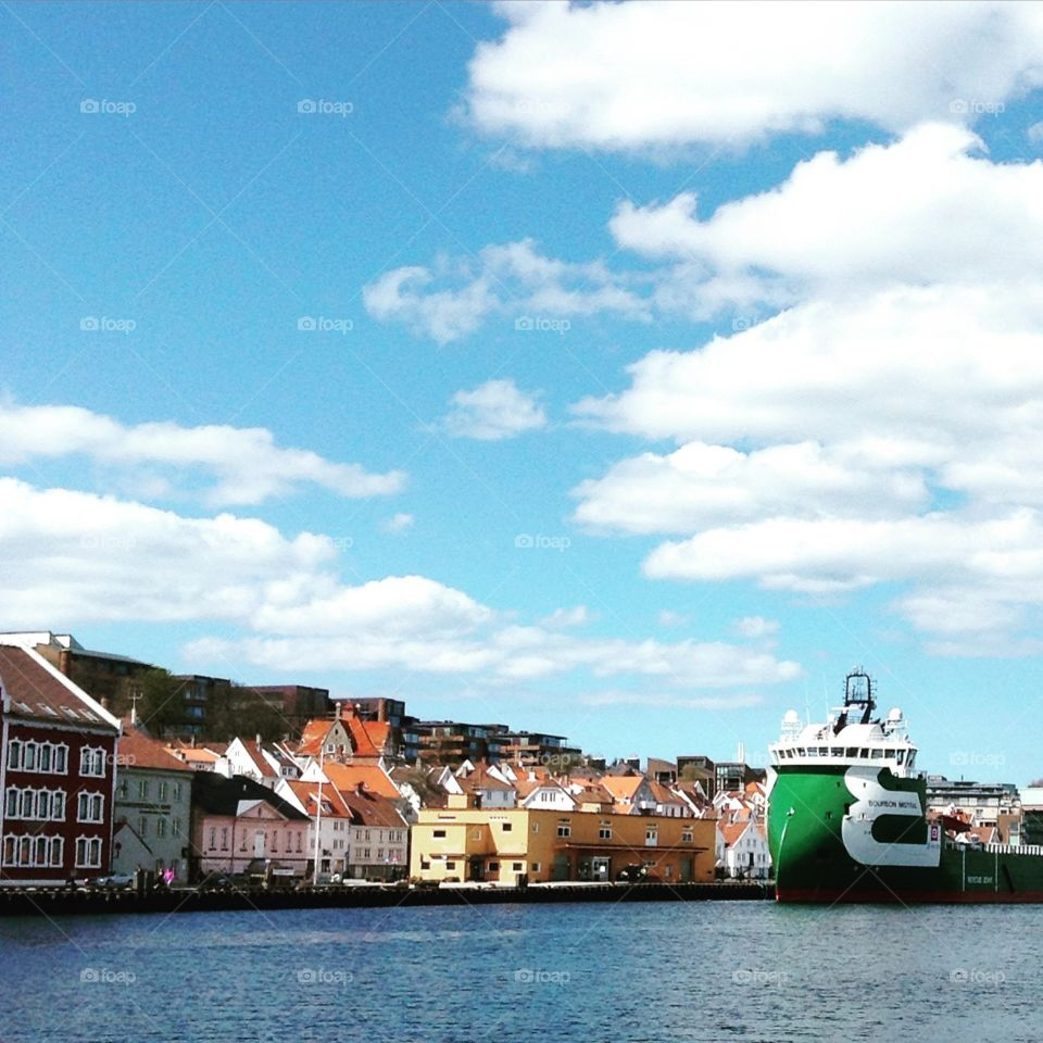 Stavanger. I went to stavanger and i was walking in downtown taking pics.