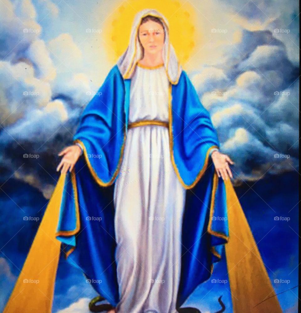 """😇Correndo e Meditando: """"Ó #NossaSenhoraDasGraças, socorrei-nos em nossas #angústias. #Amém."""" ⛪  #Fé #Santidade #Catolicismo #Jesus #Cristo #MãeDeDeus #Maria #NossaSenhora #PorUmMundoDePaz #Peace #Tolerância"""