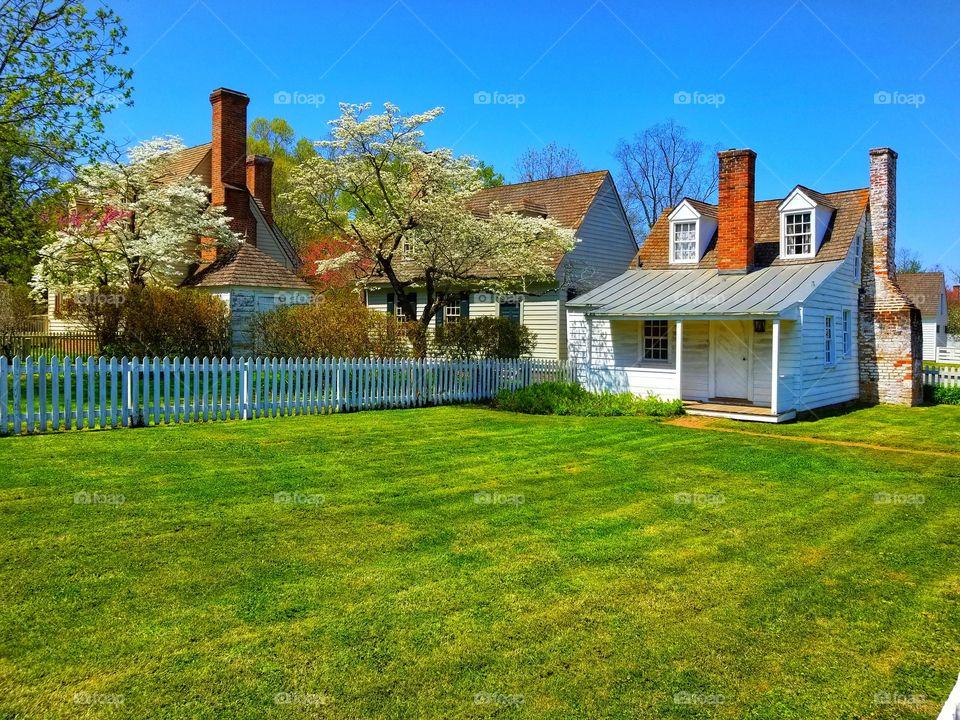 A Colonial Backyard