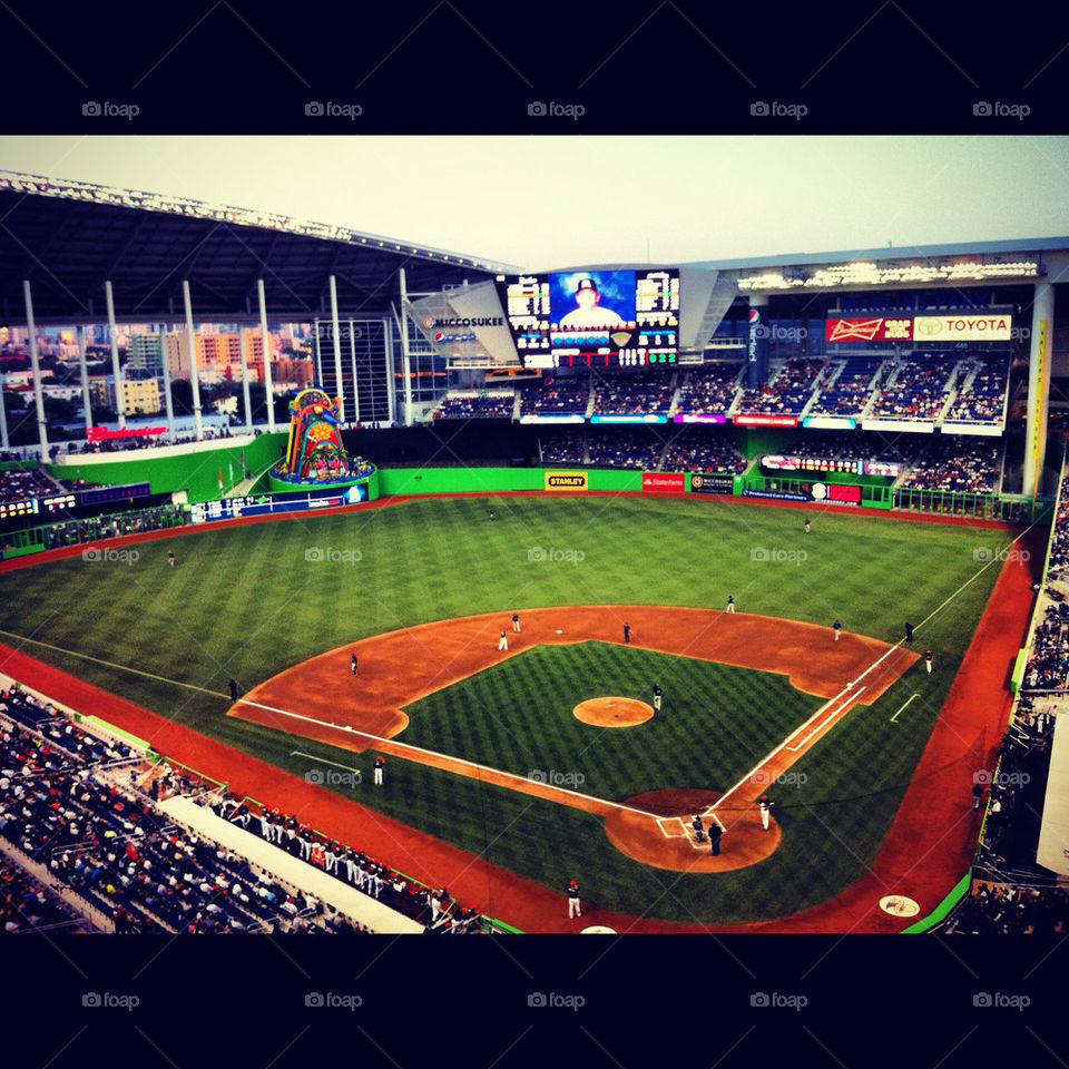 fans miami baseball marlins by zach7795