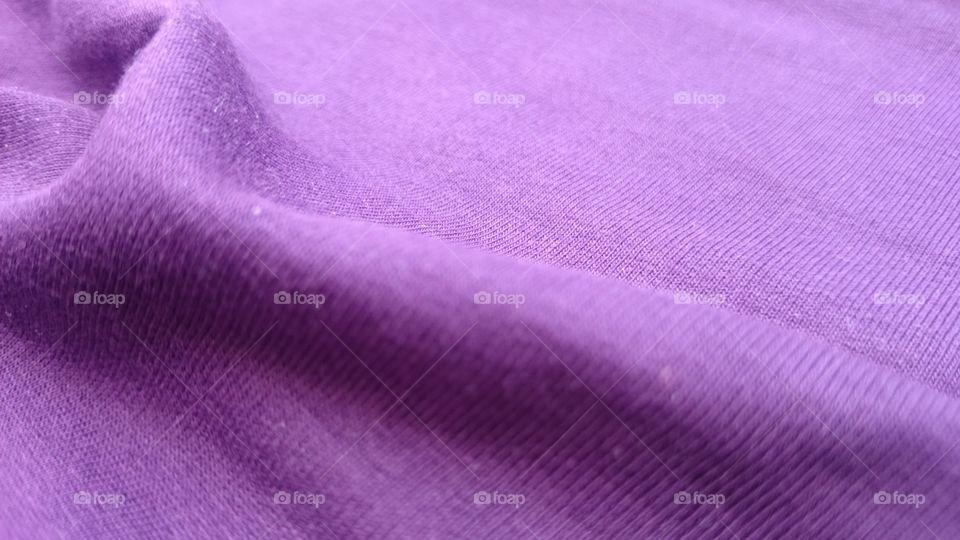 Purple silky textile