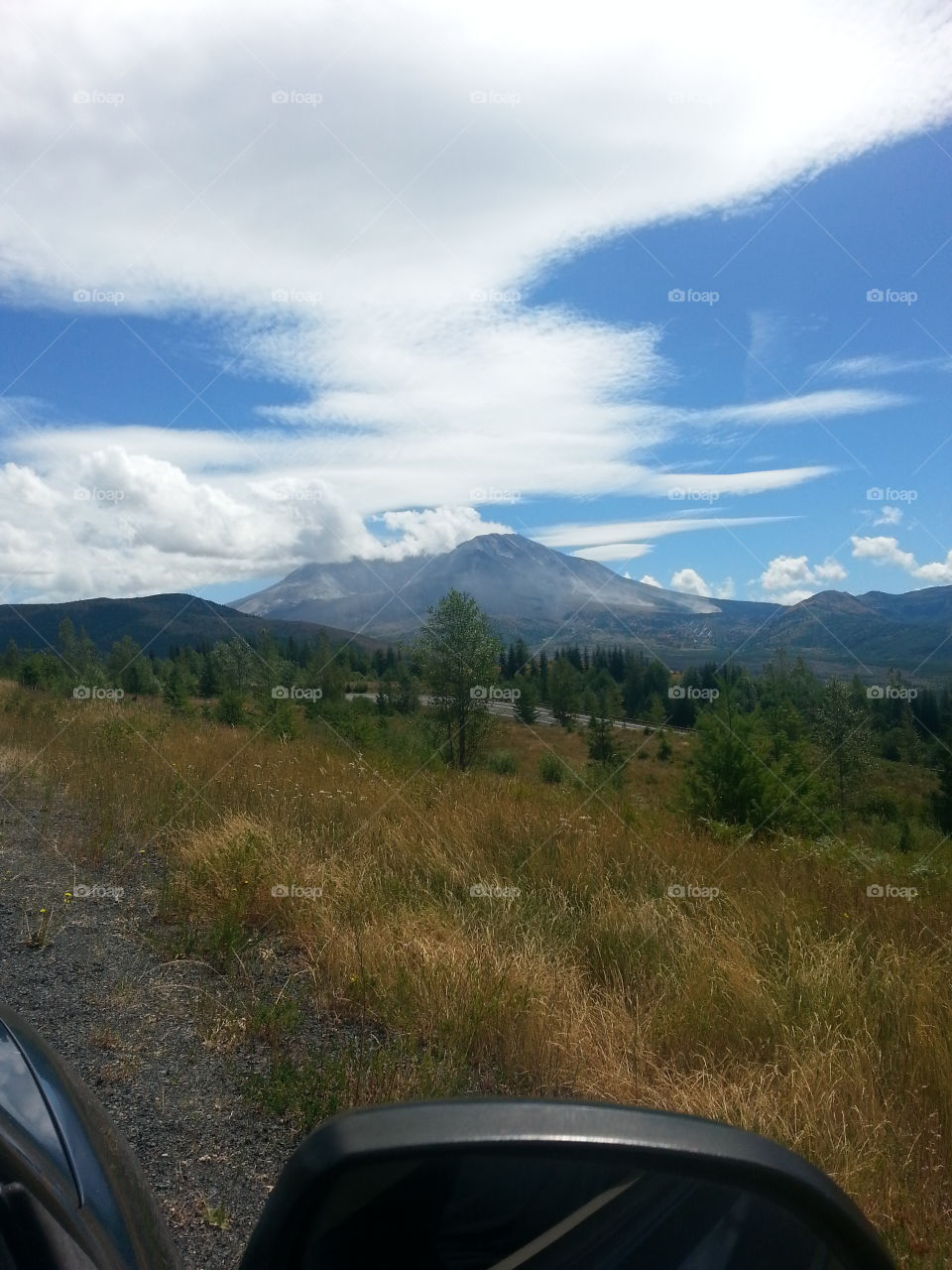 Mt. St. Helens. Went on a day trip to Mt. St. Helens and snapped this photo.