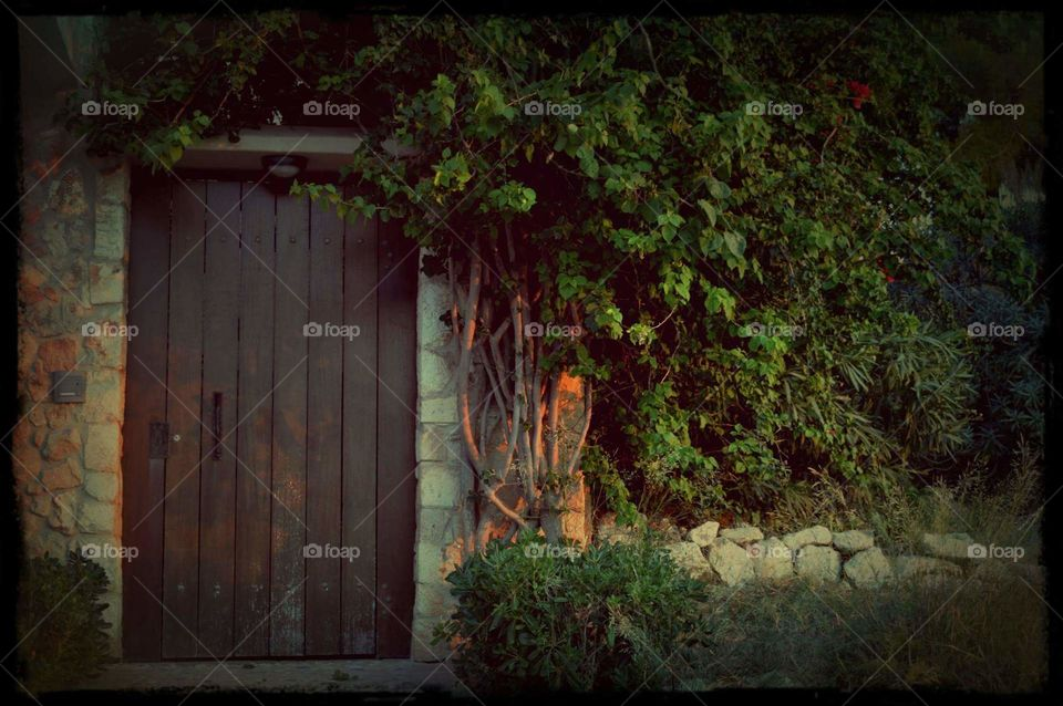 Greece photography street light house home