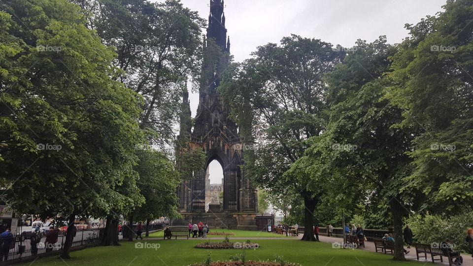Scottish Monument