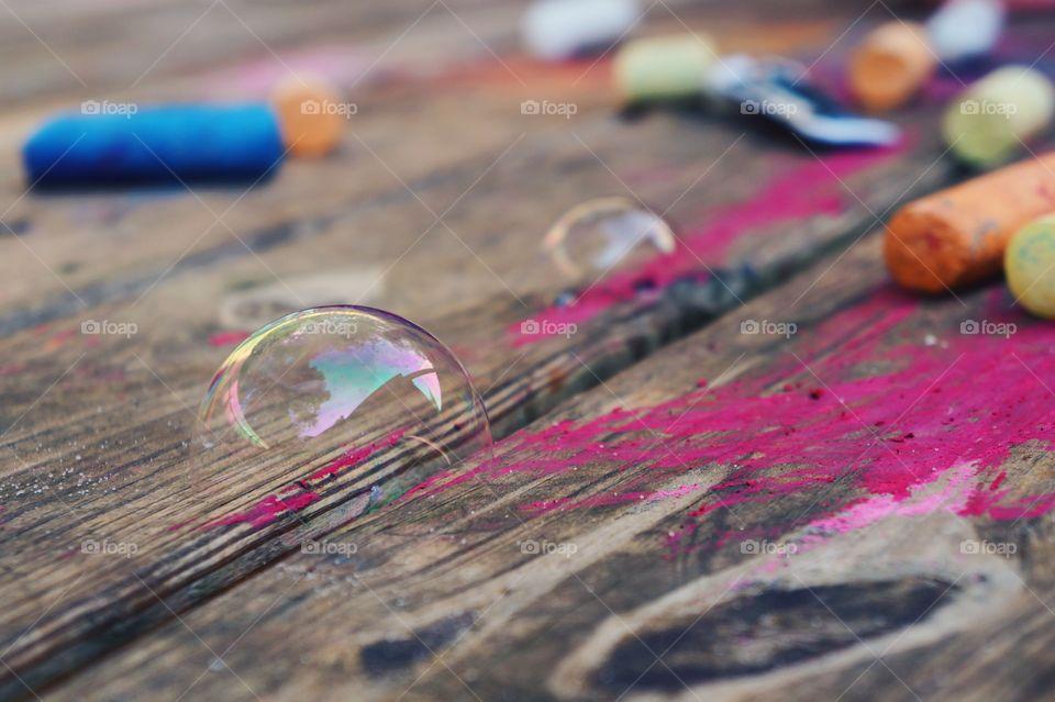 Bubbles%20+%20Chalk%20%7C%20Childhood
