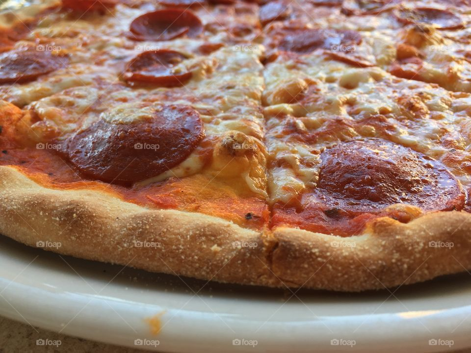 Pizza pepperoni in denmark